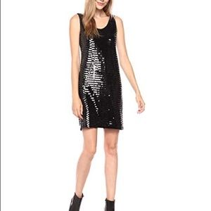 AlX Armani Exchange Women's All over Sequins Dress